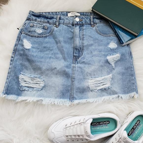 Forever 21 Dresses & Skirts - Demin skirt